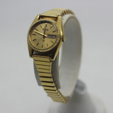 Golden Seiko Quartz watch.